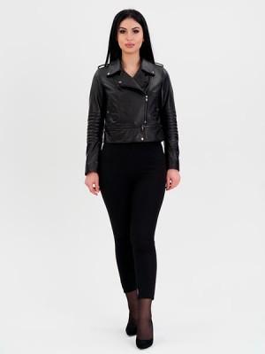 Куртки женские кожа