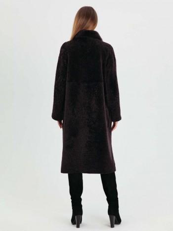 981 Нелли, Шуба женская из астрагана, воротник