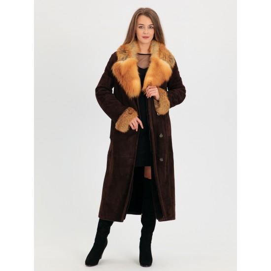 М-812 Алиса, Дубленка женская из меха овчины