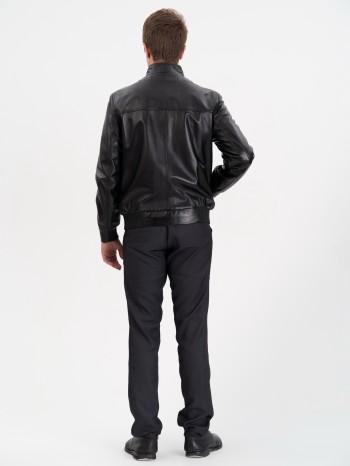 620 Миг, Куртка мужская кожаная с воротником