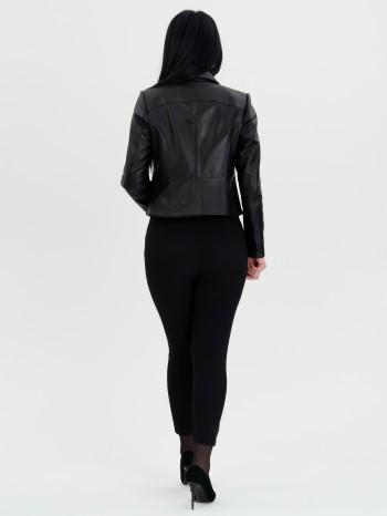 1048 Марго, Куртка из натуральной кожи, воротник отложной